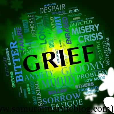 """Grief Word Indicates Broken Hearted And Angst"" by Stuart Miles @ FreeDigitalPhotos.net"